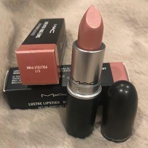 NIB MAC Politely Pimk Lustre Lipstick 💄